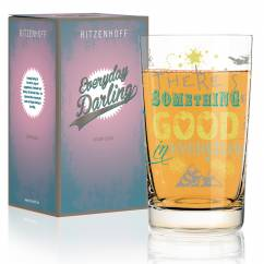 Everyday Darling Softdrinkglas von Petra Mohr (Something Good)