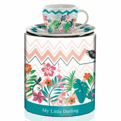 My Little Darling Espressotasse von Helena Ladeiro