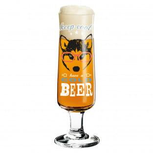 Beer Bierglas von Michaela Koch