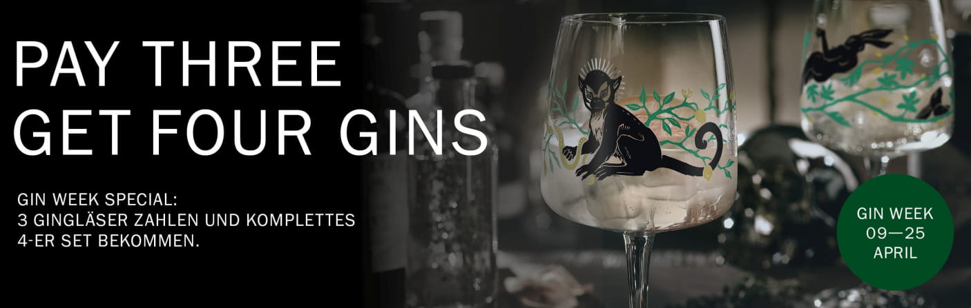 Gin Week – Pay Three Get Four Gins