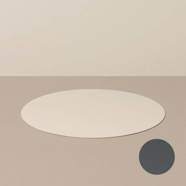 Platzset M, rund, in Sand/Stone