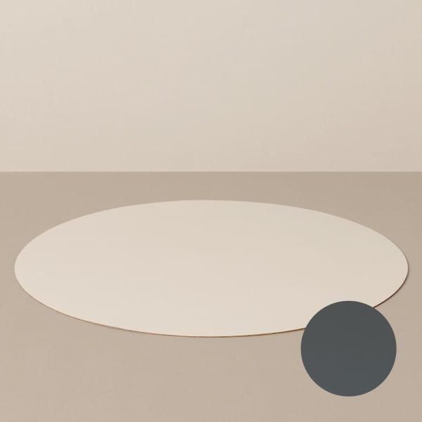Platzset L, rund, in Sand/Stone