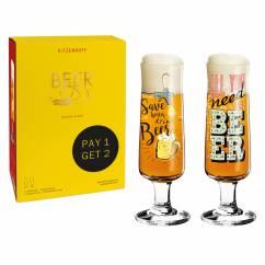 Beer Bierglas-Set von Dominika Przybylska und Potts