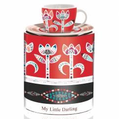 My Little Darling Espressotasse von Michal Shalev