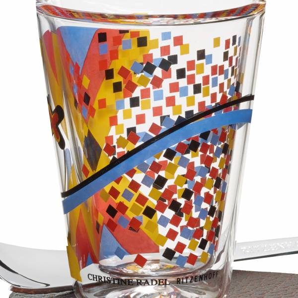 A Cuppa Day Espressoglas von Christine Radel