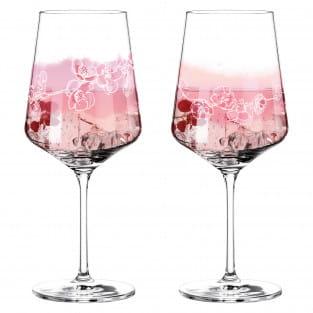 Sprizz Aperitifgläser-Set von Romi Bohnenberg (Cherry & Almond Blossoms)