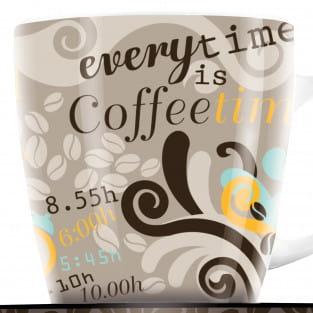 My Darling Kaffeebecher von Claudia Schultes