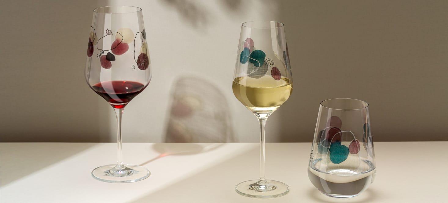 Sommerwendtraum: Rot-, Weißwein- + Wasserglas-Set