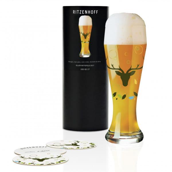 Weizen Weizenbierglas von Ellen Wittefeld
