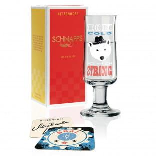 Schnapps Schnapsglas von Michaela Koch