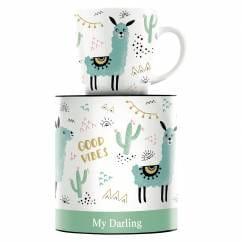 My Darling Kaffeebecher von Izabella Markiewicz
