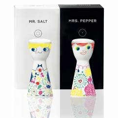 Mr. Salt & Mrs. Pepper Salz- und Pfefferstreuer-Set von Véronique Jacquart