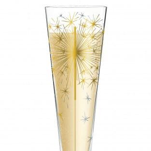 Champus Champagnerglas von Petra Mohr