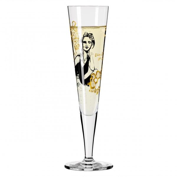 GOLDNACHT CHAMPAGNERGLAS #12 VON PETER PICHLER