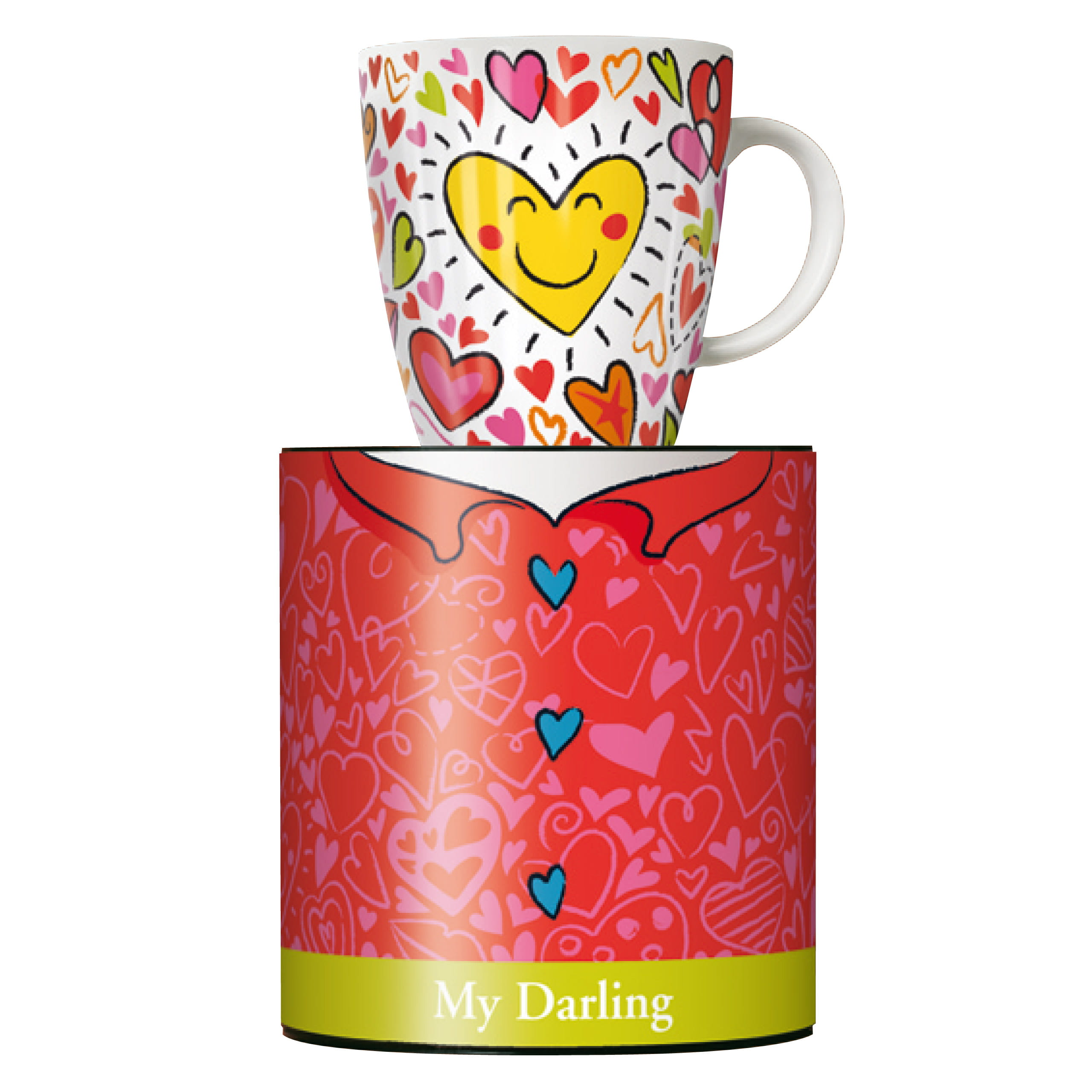 Martina Schlenke Frühjahr 20... Igel Ritzenhoff My Darling Kaffeebecher 0,3l
