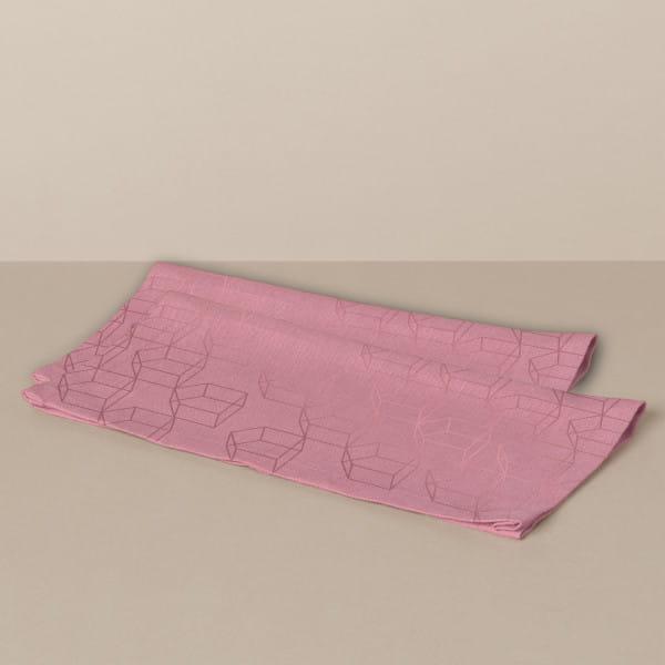 Stoffservietten-Set in Rosa