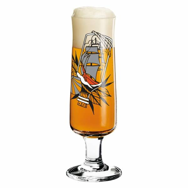 Beer Bierglas von Tobias Tietchen (Impossible Bottle)