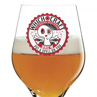 Craft Beer Bierglas von Christine Radel