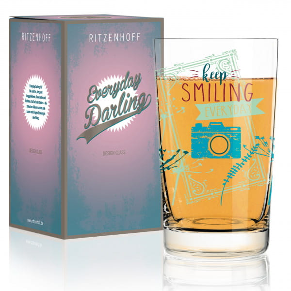 Everyday Darling Softdrinkglas von Claudia Schultes