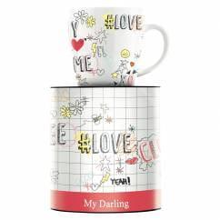 My Darling Kaffeebecher von Concetta Lorenzo
