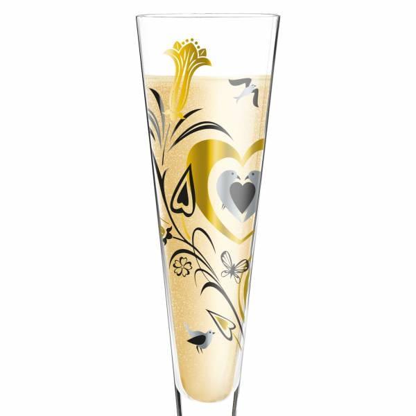Champus Champagnerglas von Philip Argent