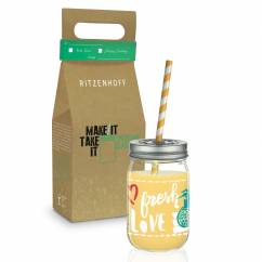 Make It Take It Smoothieglas von Virginia Romo