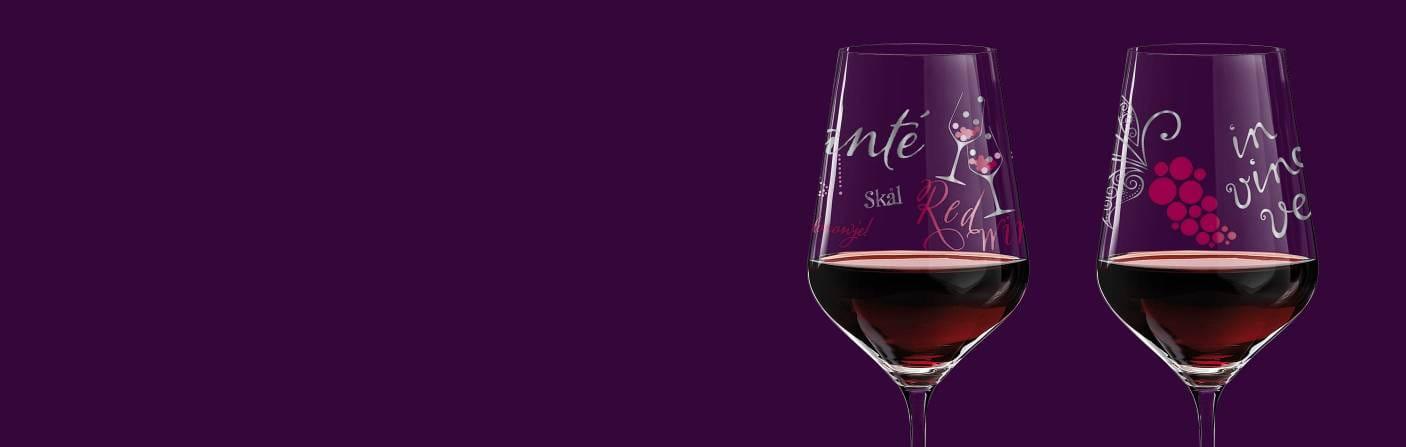Red – Elegantes Rotweinglas