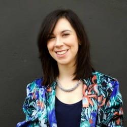Monica Albini: Designerin in Mailand, Italien
