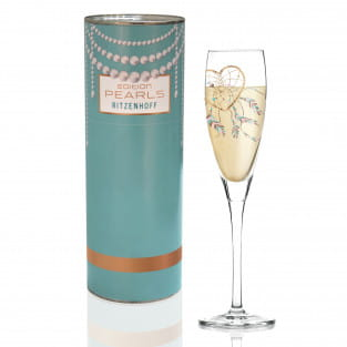 Pearls Edition Proseccoglas von Ramona Rosenkranz (Herz)