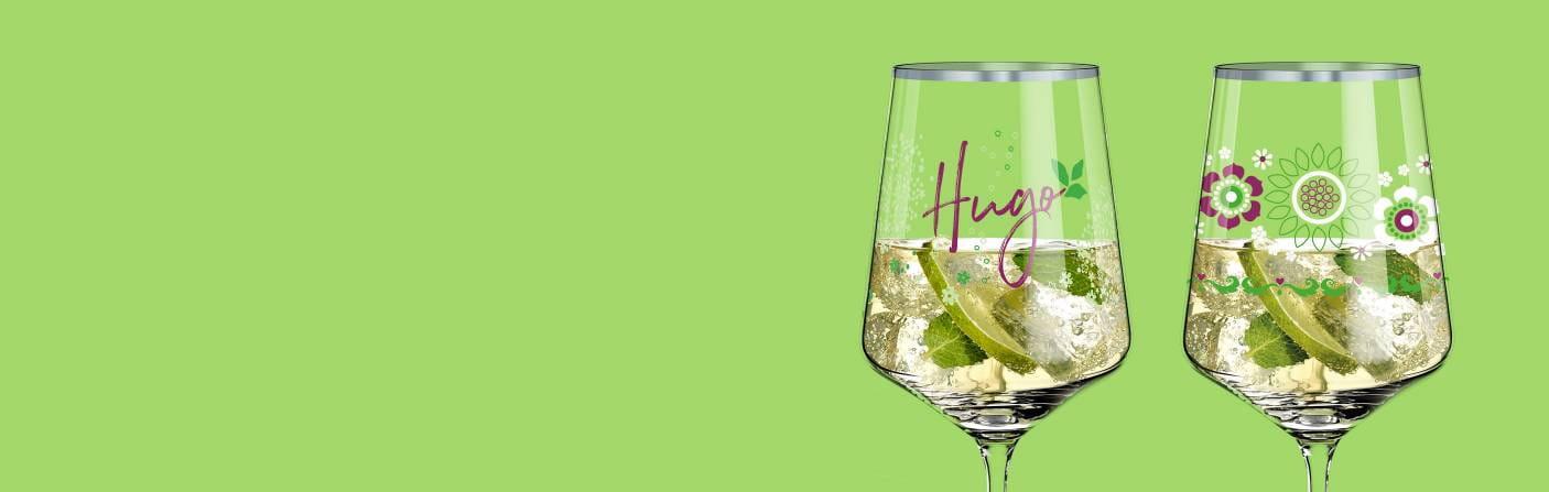 Hugo R. – Cocktailglas für Spritz-Getränke, Schorlen & Co.