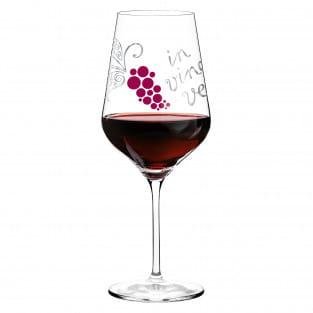 Red Rotweinglas von Nicole Winter