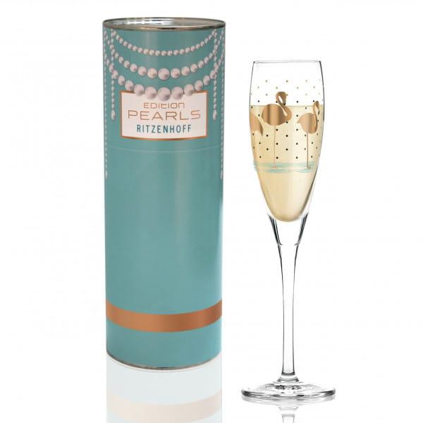 Pearls Edition Proseccoglas von Liana Cavallaro