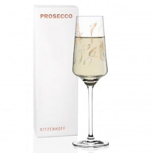 Prosecco Proseccoglas von Marvin Benzoni (Monarch Couple)