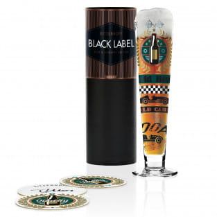 Black Label Bierglas von Thomas Marutschke