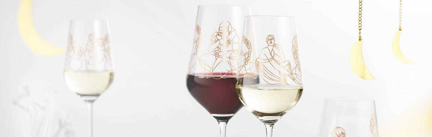 Wein-Ensemble – Anspruchsvolle Serie, mit griechischer Mythologie