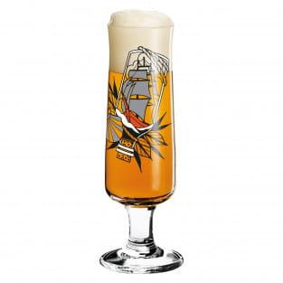 Beer Bierglas von Tobias Tietchen (Impossible Bottle)