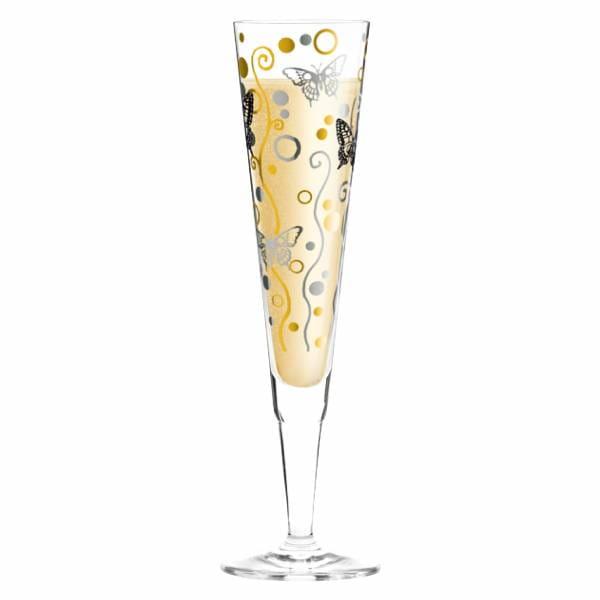 Champus Champagnerglas von Ingrid Robers