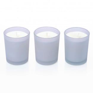 Modern Duftkerze 3er-Set, Lavender Bergamo