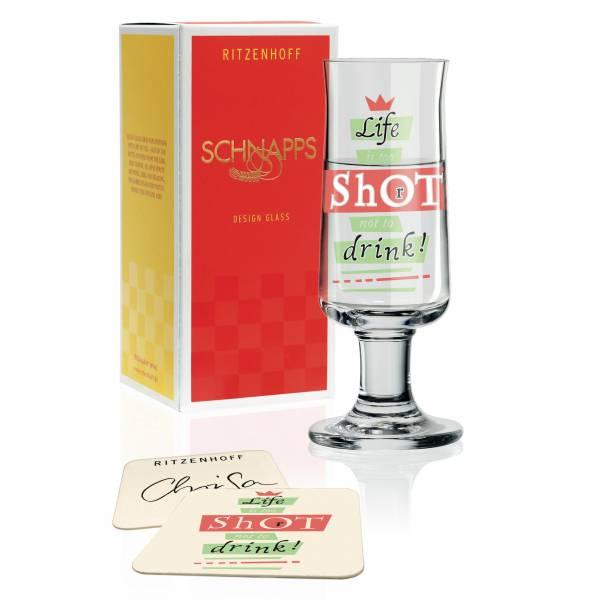 Schnapps Schnapsglas von Hans-Christian Sanladerer