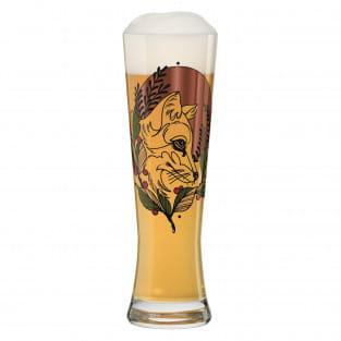Black Label Weizenbierglas-Set von Tobias Tietchen (Stag & Fox)
