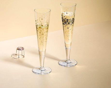 Champus-Duett – 2er Champagnerglas-Set