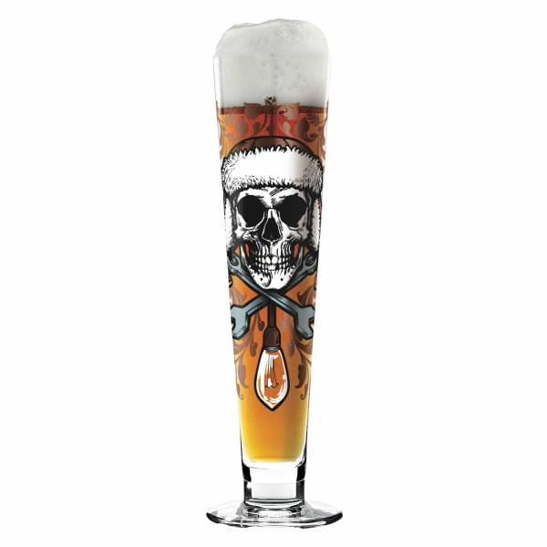 Black Label Bierglas von Medusa Dollmaker