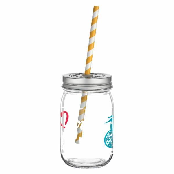 Make It Take It Smoothieglas von Virginia Romo