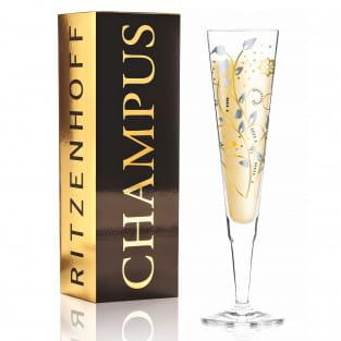 Champus Champagnerglas von Nuno Ladeiro